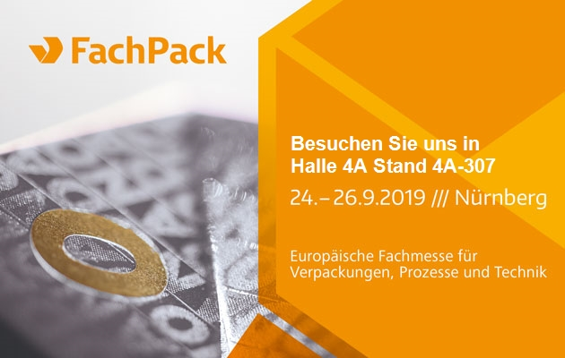 [Translate to Englisch:] Messe FachPack 2019 in Nürnberg